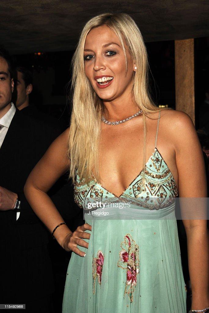 Liz Fuller during Miss Great Britain 2006 Semi Finals at Embassy Club in London Great Britain