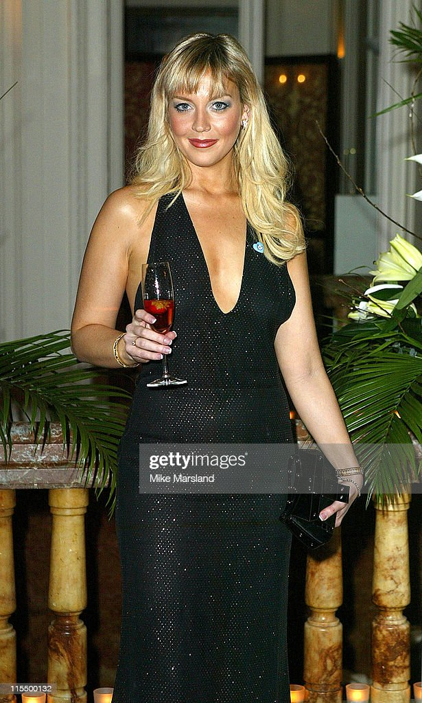 Liz Fuller during Renaissance Club Dinner and Fashion Show to Raise Funds for The Great Ormond Streety Hospital for Children at Mandarin Oriental in...