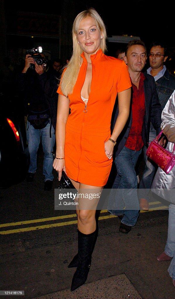 Liz Fuller during Scarlet Magazine Launch Party at Suga Suga in London Great Britain