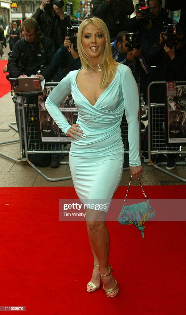 Liz Fuller during 'Sin City' London Premiere at Odeon West End in London Great Britain