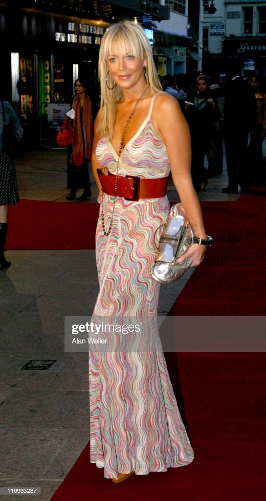 Liz Fuller during 'The Children of Men' London Premiere at Odeon Leicester Square in London Great Britain