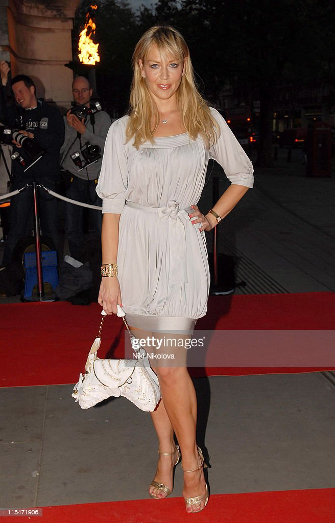Liz Fuller during The Mont Blanc Fine Jewellery Collection Launch at Victoria and Albert Museum in London Great Britain