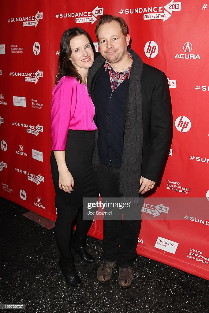 Liz Garcia and Josh Harto arrives at 'The Lifeguard' Premiere - 2013 Sundance Film Festival at Library Center Theater on January 19, 2013 in Park City, Utah.