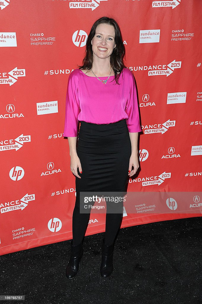 Liz Garcia arrives at 'The Lifeguard' Premiere - 2013 Sundance Film Festival at Library Center Theater on January 19, 2013 in Park City, Utah.