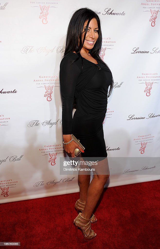 Liz Gaspari attends Gabrielle's Angel Foundation Hosts Angel Ball 2013 at Cipriani Wall Street on October 29, 2013 in New York City.