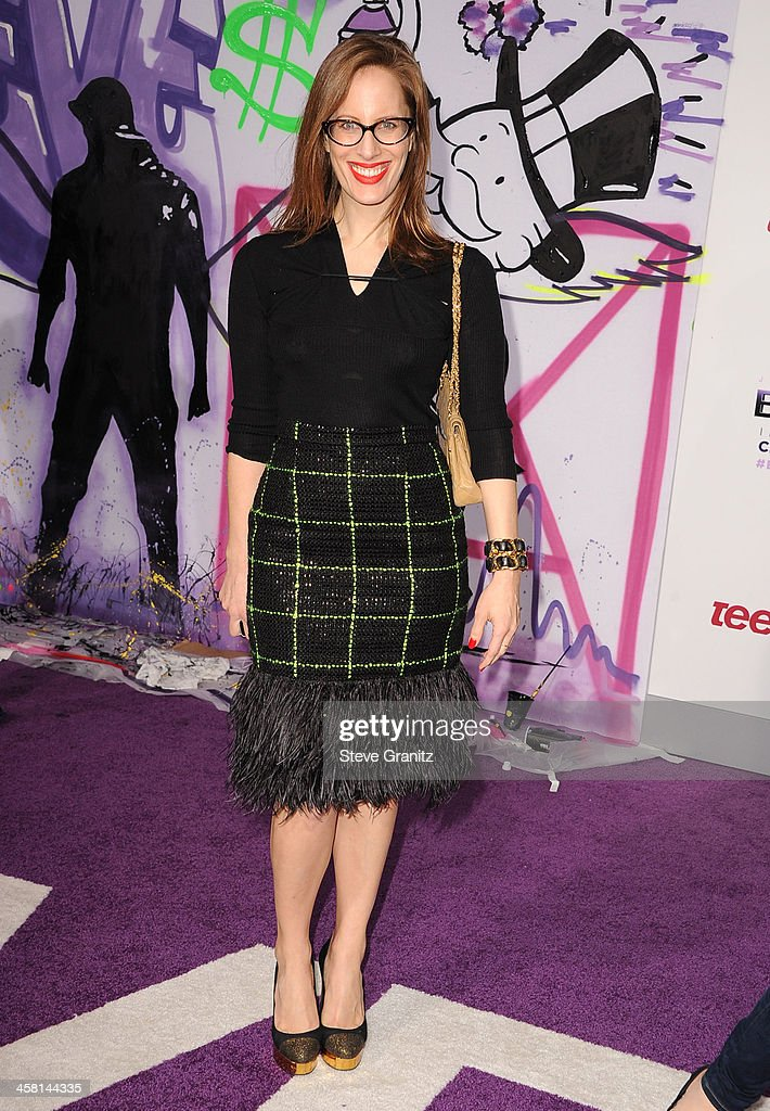 Liz Goldwyn arrives at the 'Justin Bieber's Believe' World Premiere at Regal Cinemas L.A. Live on December 18, 2013 in Los Angeles, California.