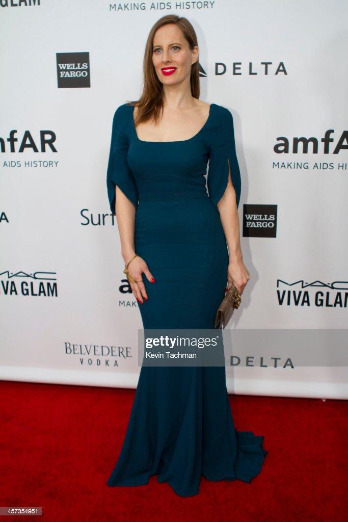Liz Goldwyn attends the 2013 amfAR Inspiration Gala Los Angeles at Milk Studios on December 12, 2013 in Los Angeles, California.