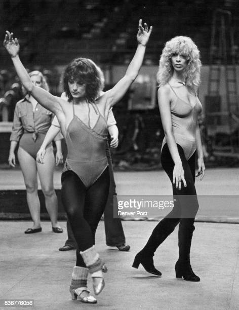 Liz Haworth right Gazes at Dancing form of Claudia Dyson Miss Harworth was given polite thanks but no thanks by circus choreographer Credit Denver...