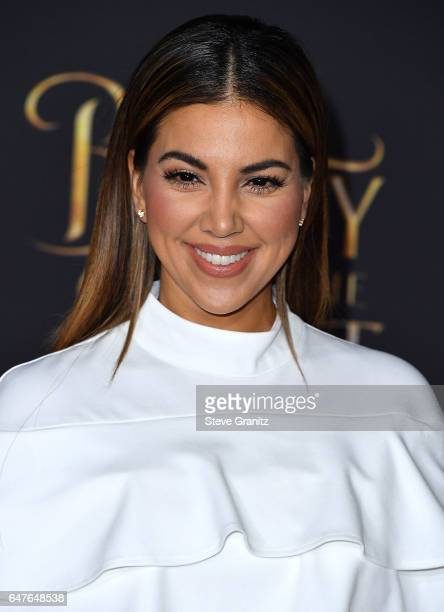 Liz Hernandez arrives a the Premiere Of Disney's 'Beauty And The Beast' at El Capitan Theatre on March 2 2017 in Los Angeles California