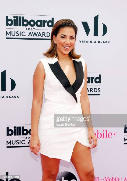 Liz Hernandez arrives at the 2017 Billboard Music Awards presented by Virginia Black at TMobile Arena on May 21 2017 in Las Vegas Nevada