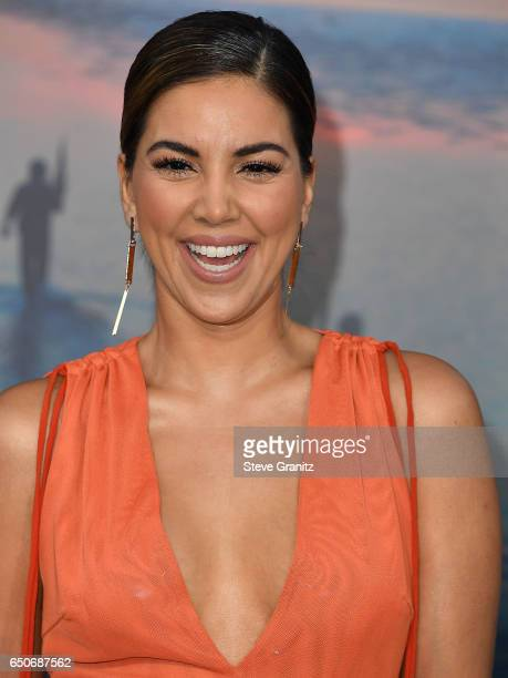 Liz Hernandez arrives at the Premiere Of Warner Bros Pictures' 'Kong Skull Island' at Dolby Theatre on March 8 2017 in Hollywood California