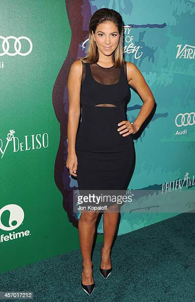 Liz Hernandez arrives at Variety's 2014 Power Of Women Event In LA Presented By Lifetime at the Beverly Wilshire Four Seasons Hotel on October 10...