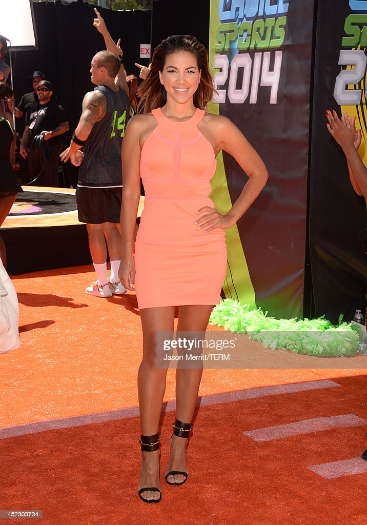 Liz Hernandez attends Nickelodeon Kids' Choice Sports Awards 2014 at UCLA's Pauley Pavilion on July 17, 2014 in Los Angeles, California.