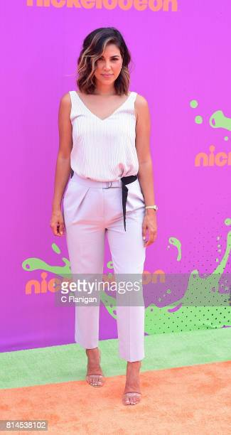 Liz Hernandez attends Nickelodeon Kids' Choice Sports Awards 2017 at Pauley Pavilion on July 13 2017 in Los Angeles California