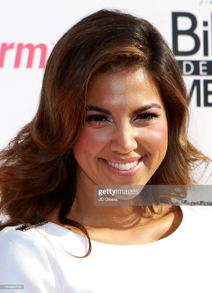 Liz Hernandez attends the 2012 Billboard Mexican Music Awards at The Shrine Auditorium on October 18, 2012 in Los Angeles, California.