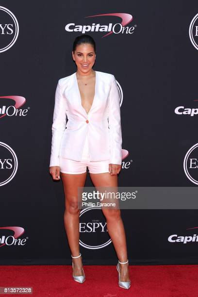Liz Hernandez attends The 2017 ESPYS at Microsoft Theater on July 12 2017 in Los Angeles California