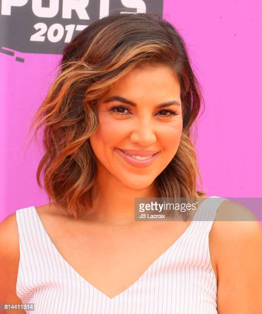Liz Hernandez attends the 2017 Nickelodeon Kids' Choice Sports Awards at Pauley Pavilion on July 13 2017 in Los Angeles California