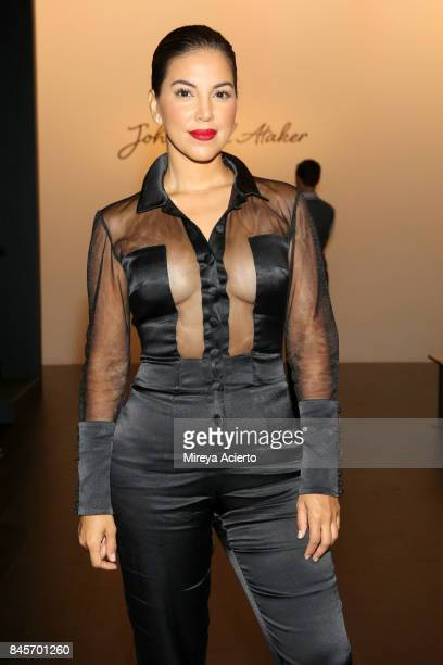 Liz Hernandez attends the John Paul Ataker fashion show during New York Fashion Week The Shows at Gallery 1 Skylight Clarkson Sq on September 11 2017...