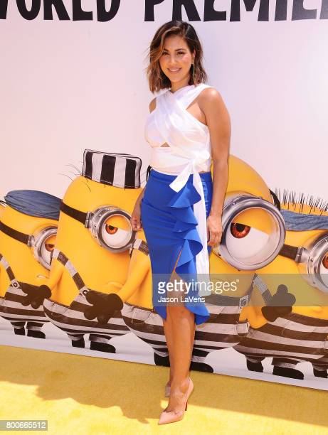 Liz Hernandez attends the premiere of 'Despicable Me 3' at The Shrine Auditorium on June 24 2017 in Los Angeles California