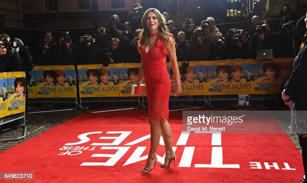 Liz Hurley attends the World Premiere of 'The Time Of Their Lives' at The Curzon Mayfair on March 8 2017 in London England