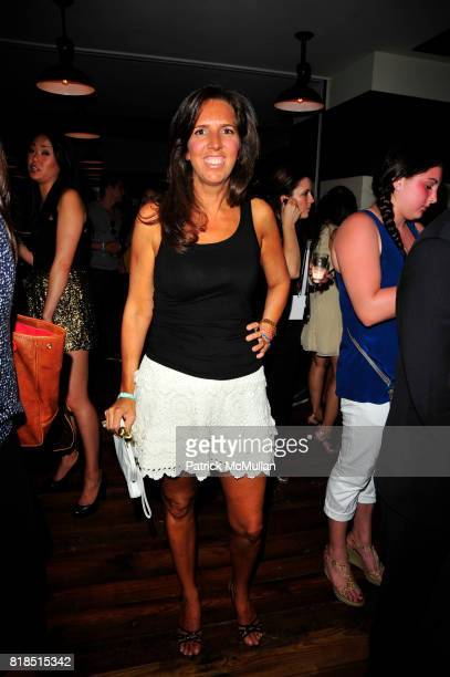 Liz Lange attends The Target Kaleidoscopic Fashion Spectacular Lights up New York City at The Standard on August 18 2010 in New York City