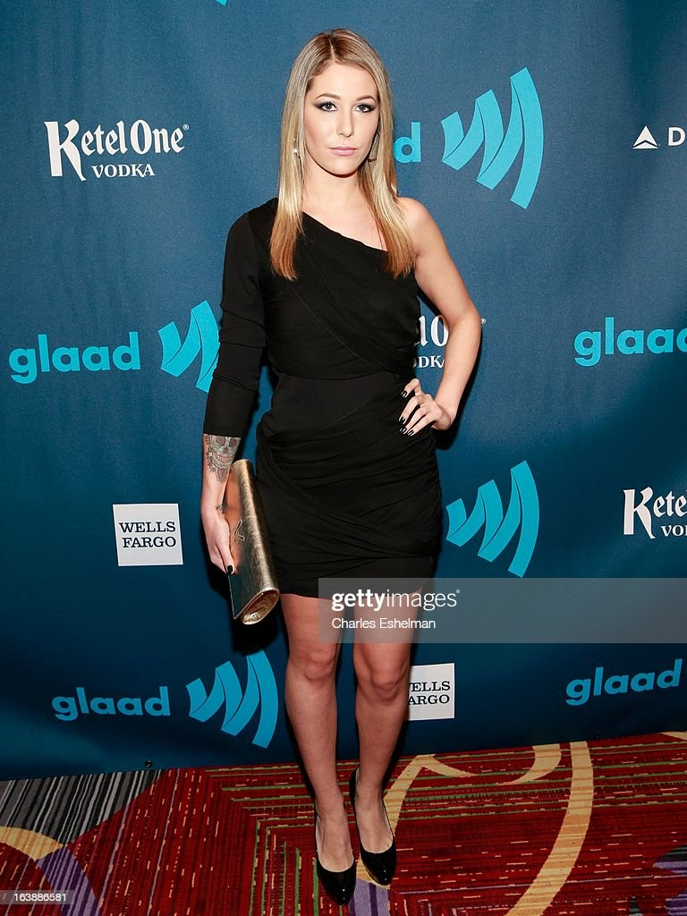 Liz Margulies attends the 24th annual GLAAD Media awards at The New York Marriott Marquis on March 16, 2013 in New York City.