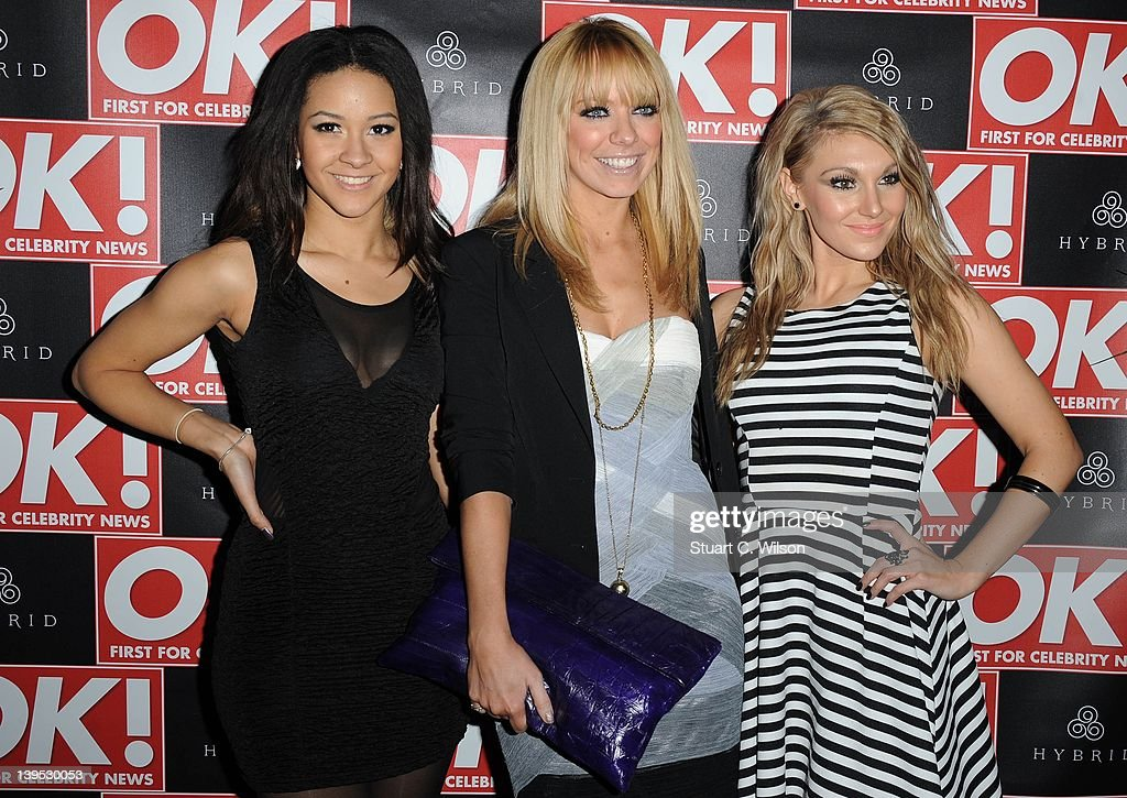 Liz McClarnon (C) attends the Hybrid and OK! Magazine London Fashion Week Party at Jewel Bar on February 22, 2012 in London, England.