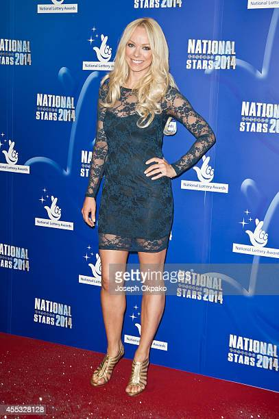 Liz McClarnon attends the National Lottery Awards at Pinewood Studios on September 12 2014 in Iver Heath England