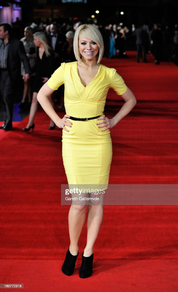 Liz McClarnon attends the UK Premiere of 'Run For Your Wife' at Odeon Leicester Square on February 5 2013 in London England