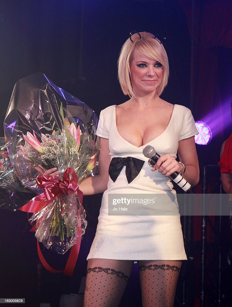 Liz McClarnon of Atomic Kitten performs on stage at G-A-Y on March 2, 2013 in London, England.