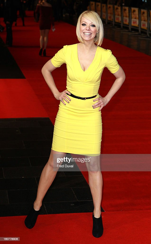 Liz McLarnon attends the premiere of 'Run For Your Wife' at Odeon Leicester Square on February 5, 2013 in London, England.