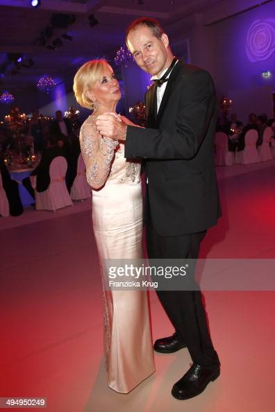 Liz Mohn and Christoph Mohn attend the Rosenball 2014 on May 31 2014 in Berlin Germany