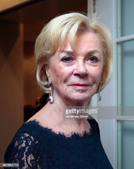 Liz Mohn attends a dinner reception at the Kaefer restaurant that coincides with the Munich Security Conference on February 6 2015 in Munich Germany...