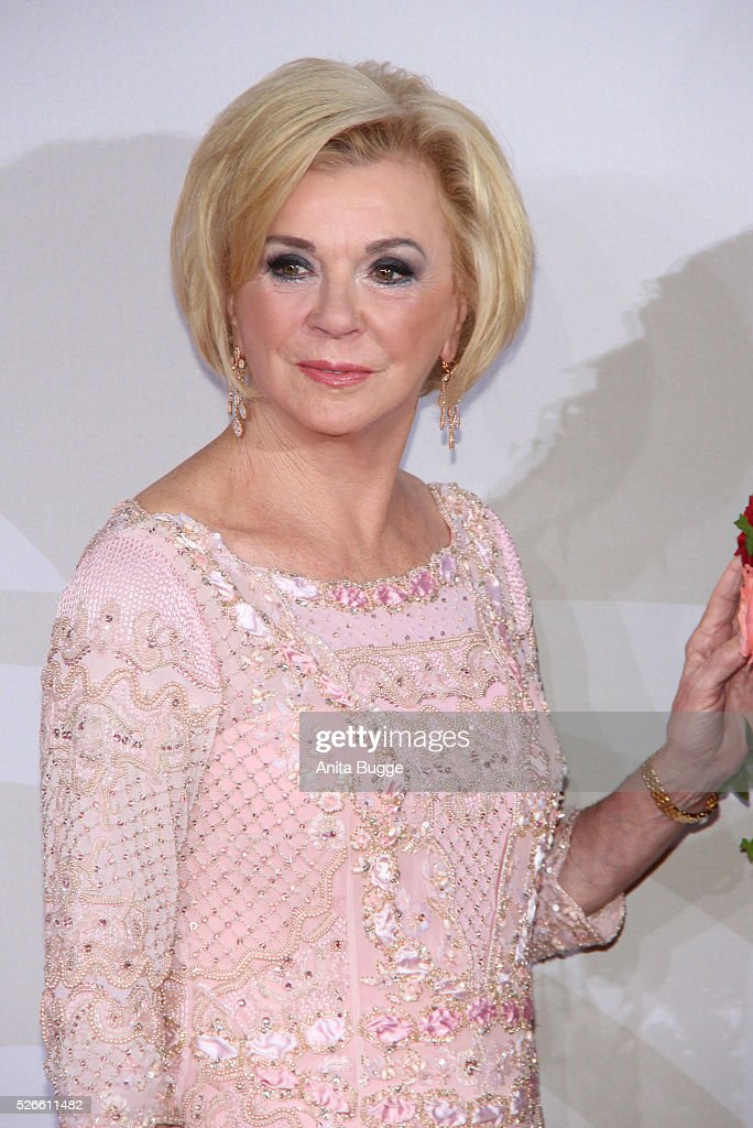 <a gi-track='captionPersonalityLinkClicked' href=/galleries/search?phrase=Liz+Mohn&family=editorial&specificpeople=608012 ng-click='$event.stopPropagation()'>Liz Mohn</a> attends the charity event 'Rosenball' at Hotel Intercontinental on April 30, 2016 in Berlin, Germany.