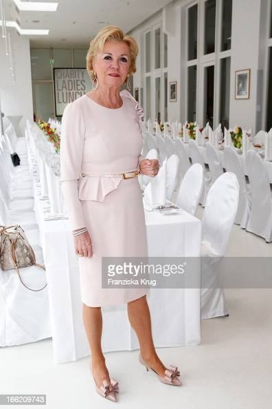 Liz Mohn attends the Ladies Lunch at the Ellington Hotel on April 10 2013 in Berlin Germany