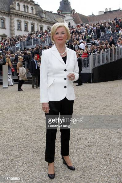 Liz Mohn attends the opera 'The Magic Flute' at the Thurn Taxis Castle Festival Opening on July 13 2012 in Regensburg Germany