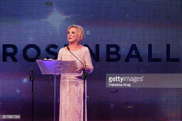 Liz Mohn attends the Rosenball 2016 on April 30 in Berlin Germany