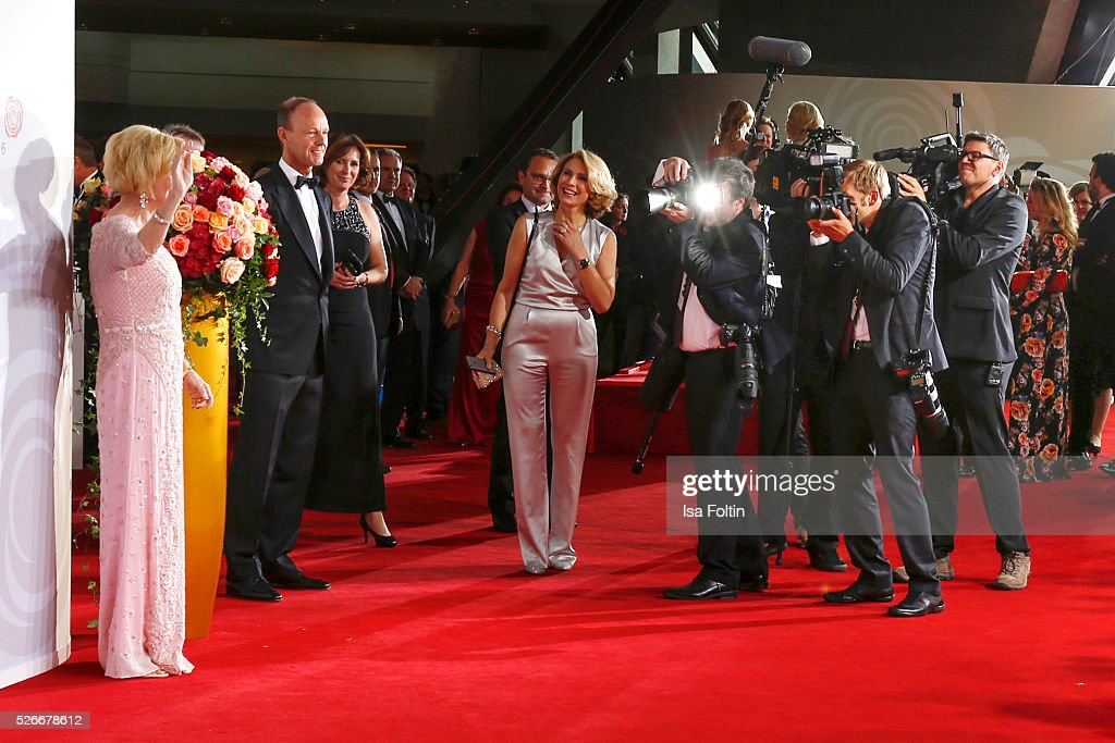 <a gi-track='captionPersonalityLinkClicked' href=/galleries/search?phrase=Liz+Mohn&family=editorial&specificpeople=608012 ng-click='$event.stopPropagation()'>Liz Mohn</a> during the Rosenball 2016 red carpet event on April 30, 2016 in Berlin, Germany.