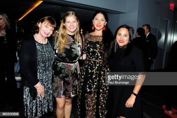 Liz Nightingale Holly Speck Alyssa Abrams and Vee Desai attend the Decoration and Design Building celebrates the 2017 winners of the DDB's 10th...