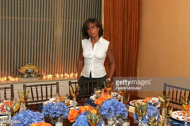 Liz Swig attends Kent and Liz Swig Host a Dinner In Honor of Artist Gary Hume at Kent and Liz Swig Duplex on September 22 2005 in New York City