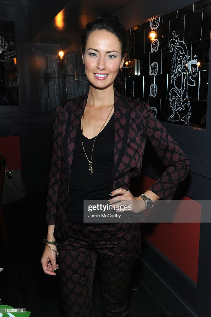 Liz Walaszczyk attends NYLON + Sanuk celebrate the October 'It Girl' issue with cover star Alexa Chung at La Cenita on October 8, 2013 in New York City.