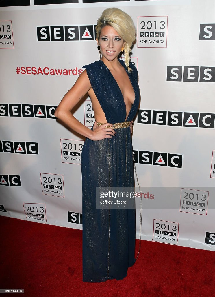 Liza Forero attends 2013 SESAC Pop Music Awards at New York Public Library on May 13, 2013 in New York City.