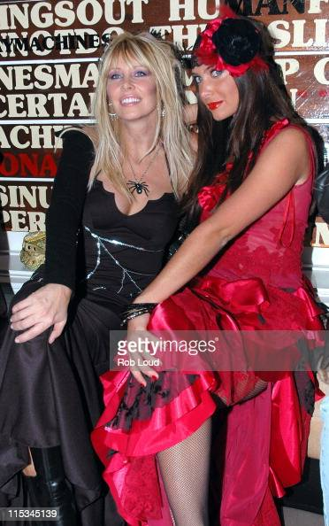 Liza Gastineau and Brittny Gastineau during Joonbug's 4th Annual Halloween Masquerade Ball Hosted by the Gastineau Girls at Capitale in New York City...