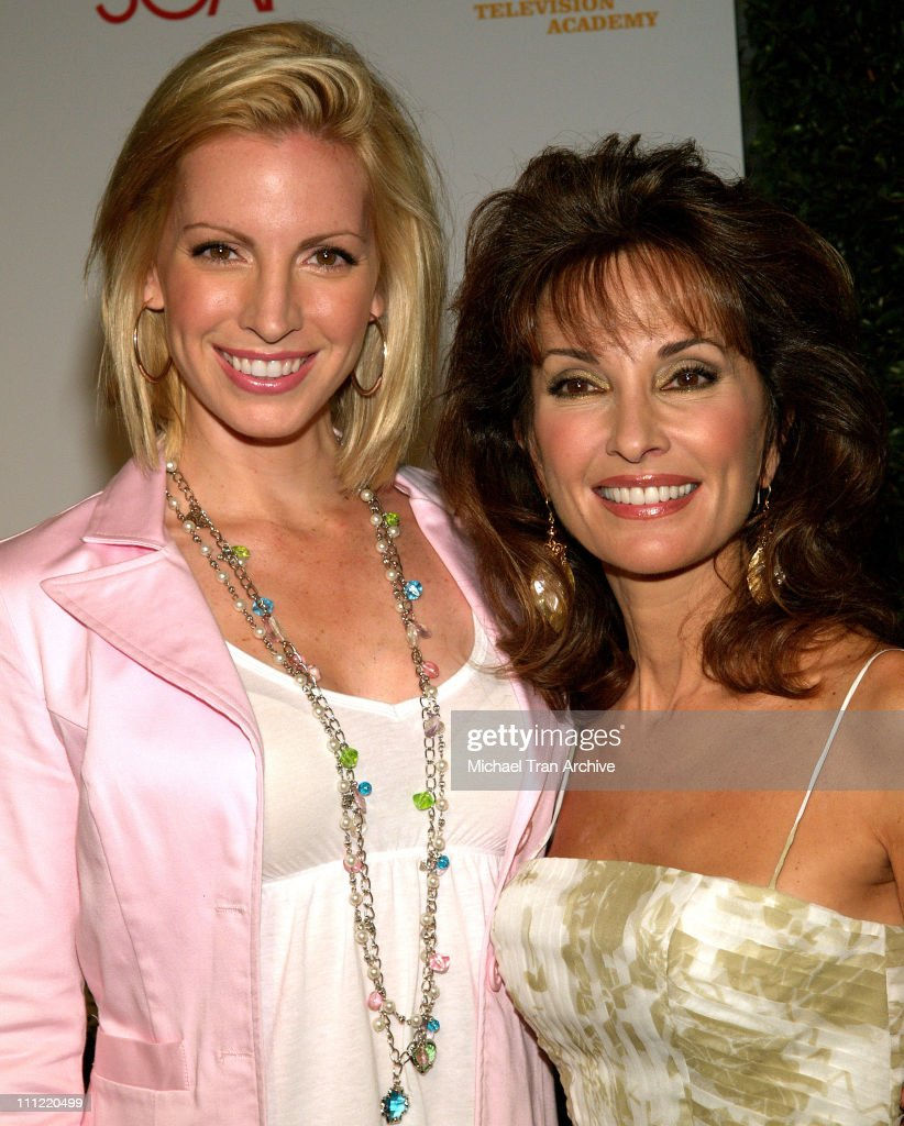 Liza Huber and Susan Lucci during SOAPnet National TV Academy Annual Daytime Emmy Awards Nominee Party Arrivals at Hollywood Roosevelt Hotel in...
