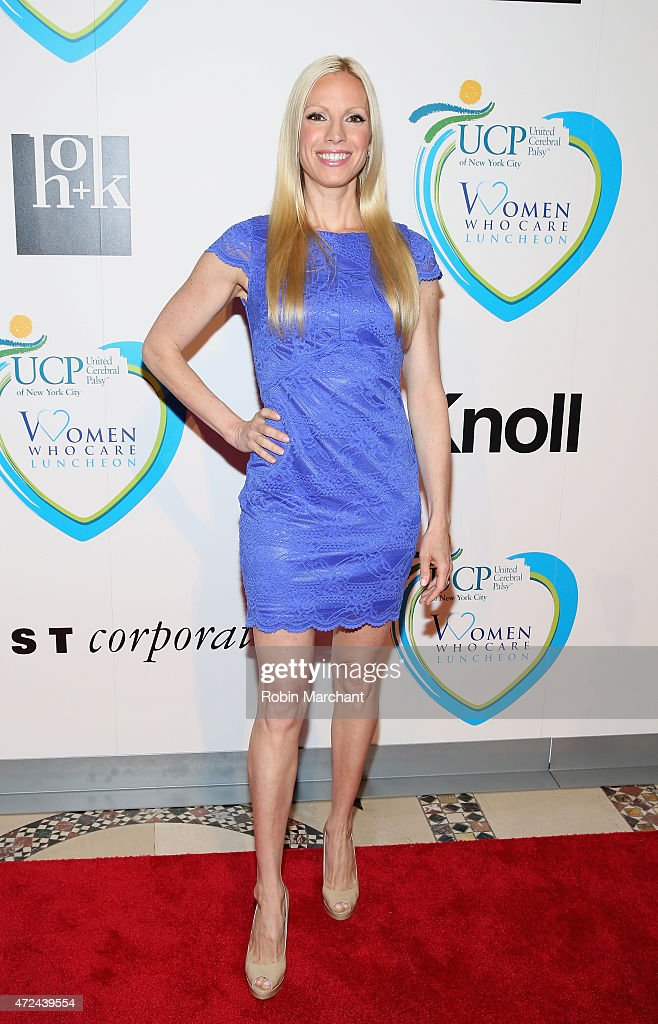 Liza Huber attends 14th Annual Women Who Care Awards Luncheon Benefiting United Cerebral Palsy Of New York City at Cipriani 42nd Street on May 7 2015...