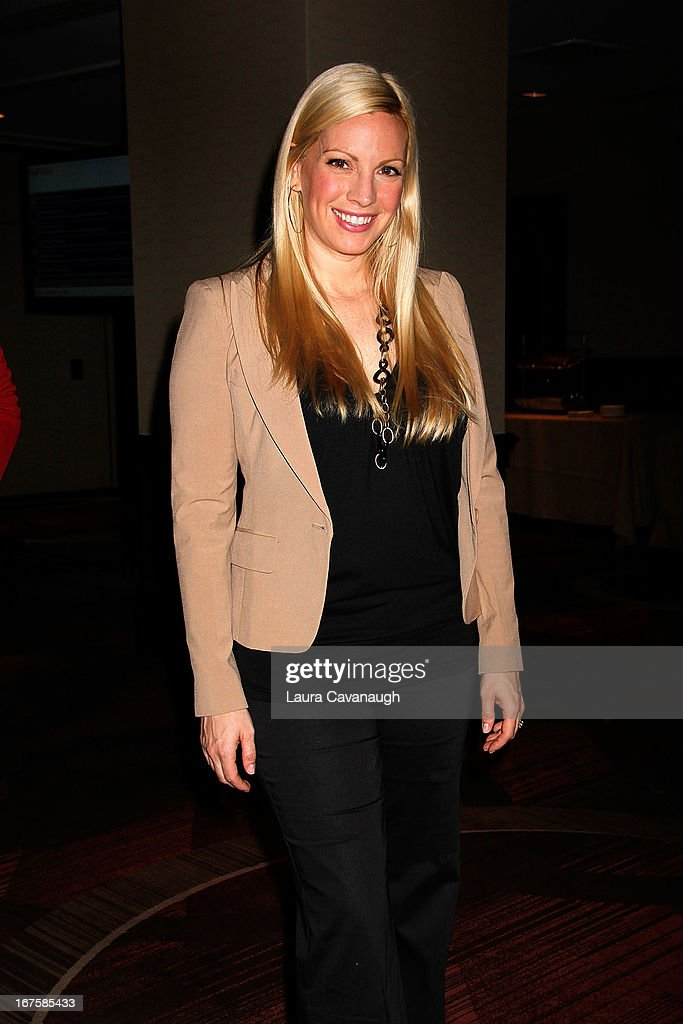 <a gi-track='captionPersonalityLinkClicked' href=/galleries/search?phrase=Liza+Huber&family=editorial&specificpeople=665799 ng-click='$event.stopPropagation()'>Liza Huber</a> attends the 2013 Spark. Ignite Your Network conference at the Sheraton New York Hotel & Towers on April 26, 2013 in New York City.