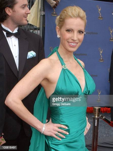 Liza Huber during 33rd Annual Daytime Emmy Awards Arrivals at Kodak Theatre in Hollywood CA United States