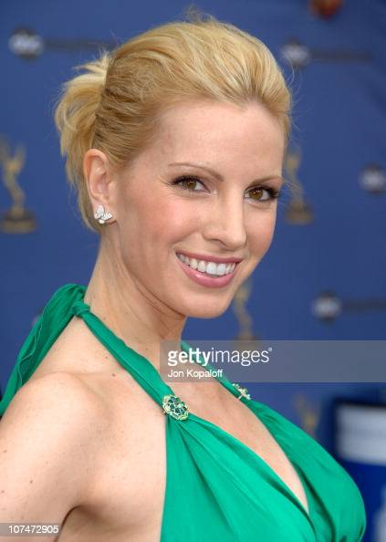 Liza Huber during 33rd Annual Daytime Emmy Awards Arrivals at Kodak Theater in Hollywood California United States