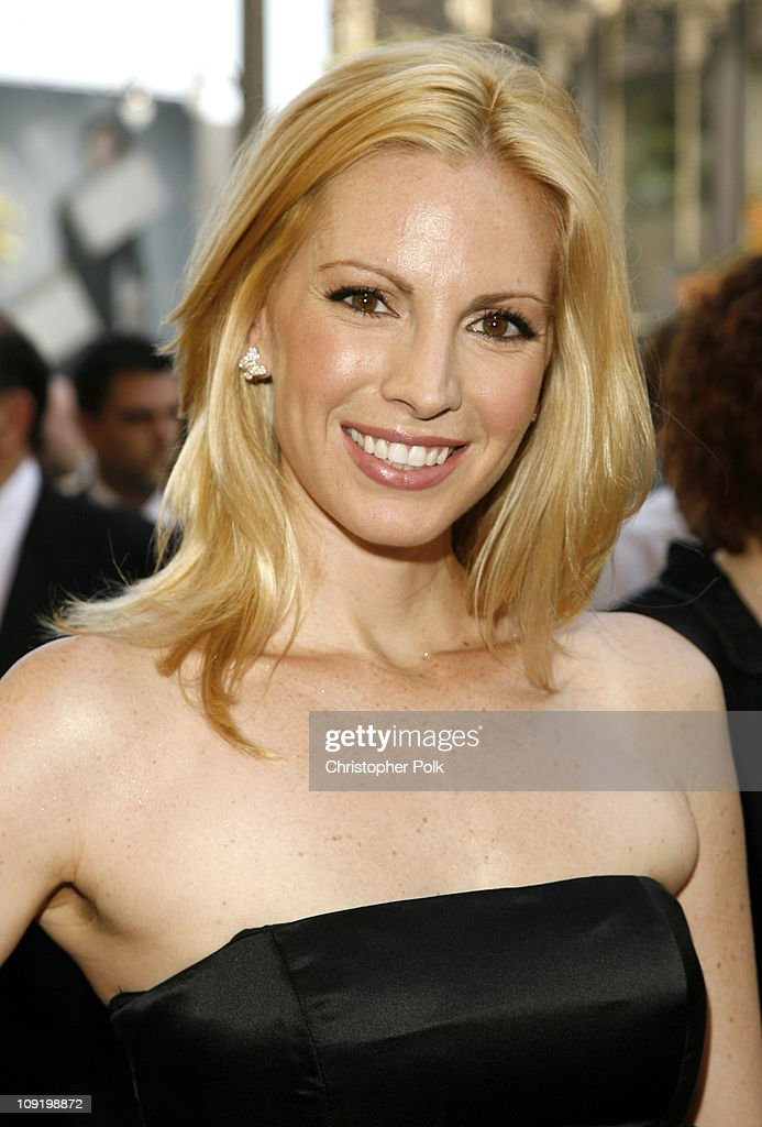 Liza Huber during 34th Annual Daytime Emmy Awards Red Carpet at Kodak Theatre in Hollywood California United States