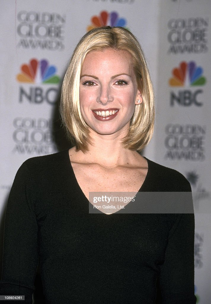 Liza Huber during 57th Annual Golden Globe Nominations December 20 1999 at Beverly Hilton Hotel in Beverly Hills California United States